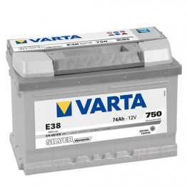 Акумулатор Varta 74 Ah SILVER dynamic